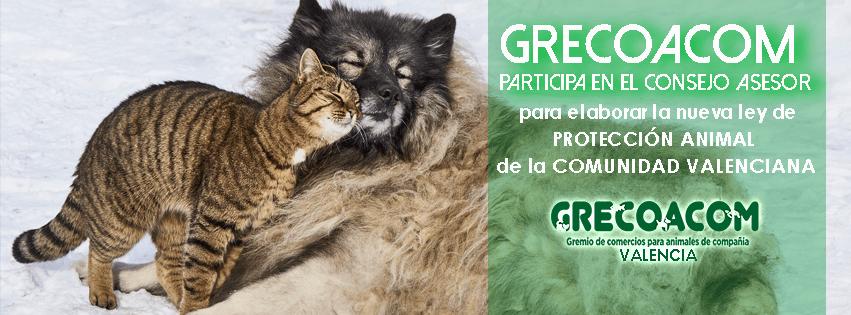 20180303 GRECOACOM participa en la nueva Ley Protecc.Animal CV 851x315 png