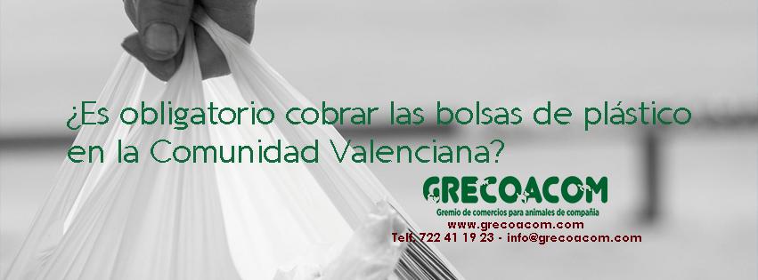 Es obligatorio cobrar las bolsas de plastico en la Comunidad Valenciana 851x315 GRECOACOM