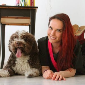Cristina Ardisana especialista en Perros de Agua español PDAE ahora en Valencia